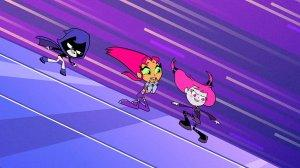Teen Titans Go Girl's Night Out Raven Starfire Jinx