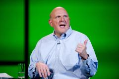 Microsoft CEO Steve Ballmer has met with Hollywood types to sell them on the Xbox One.