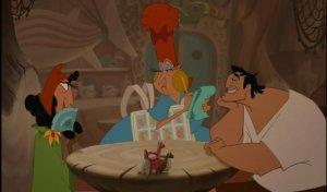 Emperor's New Groove Blu-ray Restaurant Gag