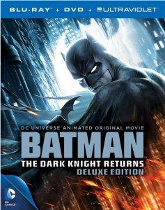 Batman The Dark Knight Returns Deluxe Edition Blu-ray Art