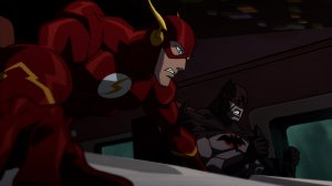 Justice League: The Flashpoint Paradox Flash and Batman