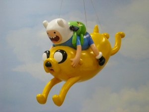 Adventure Time Finn and Jake Parade Float Macy's Thanksgiving Day Parade