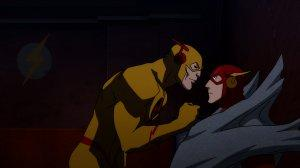 Justice League The Flashpoint Paradox Flash Reverse Flash