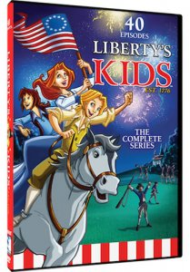 Liberty's Kids: The Complete Series DVD Box Art Mill Creek Entertainment