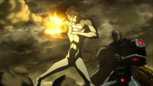 Justice League: The Flashpoint Paradox Superman Cyborg
