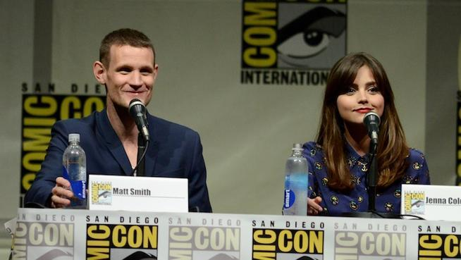 Matt Smith makes his final Comic-Con appearance while playing Doctor Who.