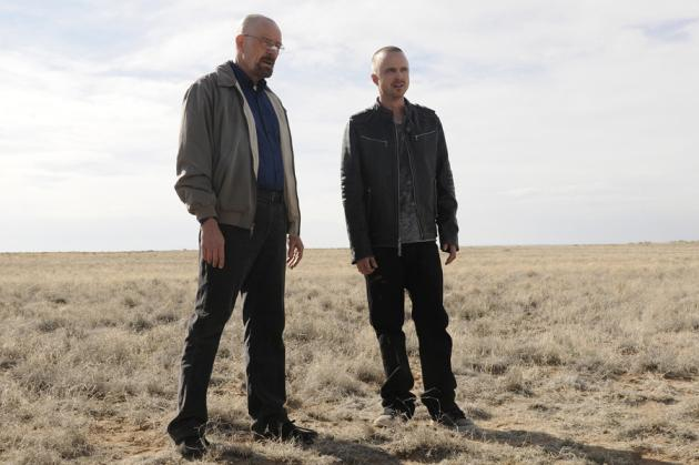 "Bryan Cranston and Aaron Paul will be entering the fifth and final season of AMC's ""Breaking Bad""."