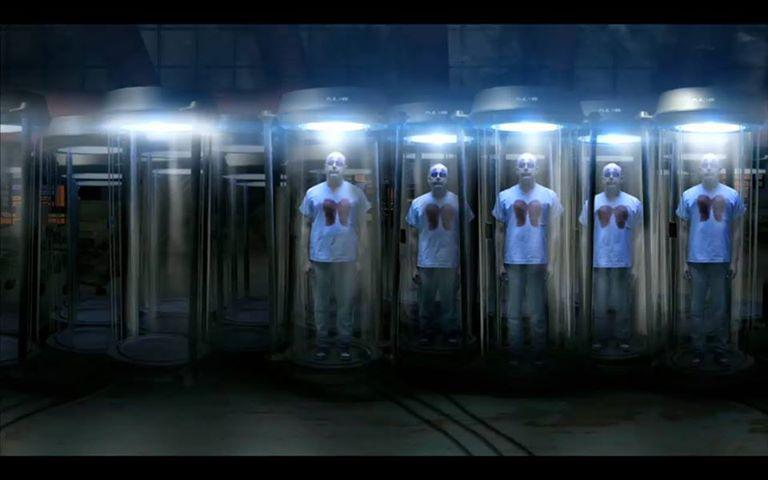 The Blake Downs Clone Room - located deep inside the bowels of Childrens Hospital, which is located in Brazil [like everybody knows].