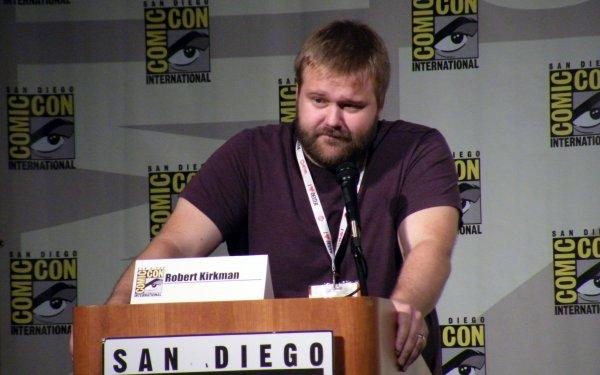 The Walking Dead Comic Panel - Robert Kirkman