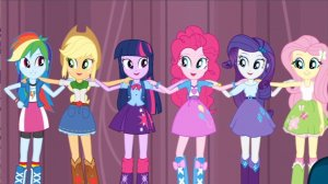 My Little Pony: Equestria Girls Rainbow Dash, Applejack, Twilight Sparkle, Pinkie Pie, Rarity, and Fluttershy