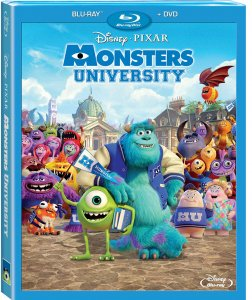 Monsters University Blu-ray Combo Pack Box Art