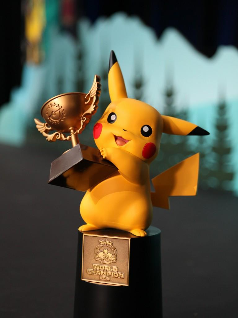 Pokemon World Champion Trophy