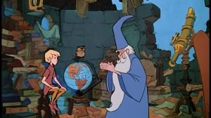 Sword in the Stone Merlin and Arthur