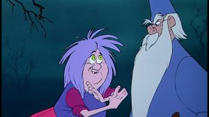 Sword in the Stone Merlin and Madam Mim