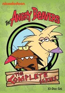 Angry Beavers Complete Series Set Box Art