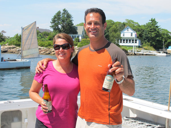 The new comedy will be based on the life of husband-and-wife owners of Dogfish Head Brewery, Sam and Mariah Calagione.