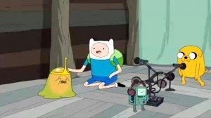 Adventure Time Love Games Slime Princes, Finn, and Jake