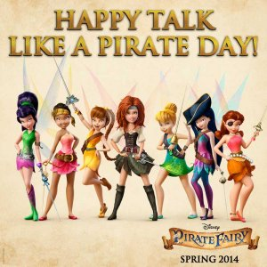Pirate Fairy Talk Like a Pirate Day