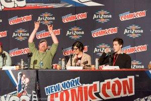 NYCC 2013 Adventure Time Panel - Bacon Pancakes!