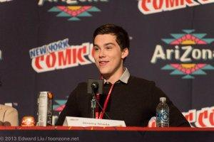 NYCC 2013 Adventure Time Panel - Jeremy Shada