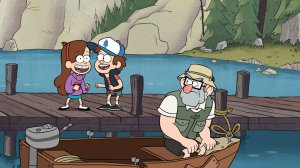 Gravity Falls Six Strange Tales - Legend of the Gobblewonker