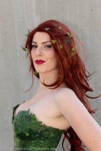 NYCC 2013 Cosplay GillyKins Poison Ivy