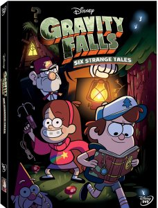 Gravity Falls Six Strange Tales DVD Art
