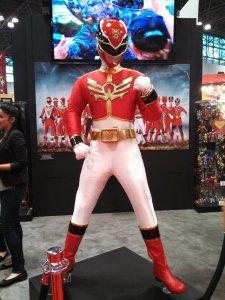 New York Comic Con 2013 Cosplay: Red Power Ranger