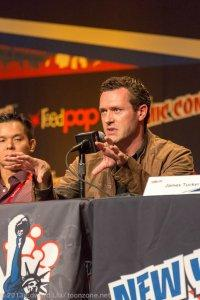 NYCC 2013 Justice League War - Jason O'Mara