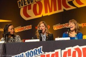 NYCC 2013 Archer Panel - Judy Greer says You're Not My Supervisor!