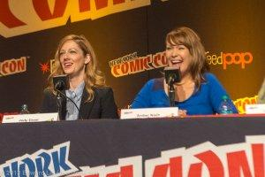 NYCC 2013 Archer Panel Judy Greer and Amber Nash