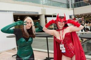 Rogue and Scarlet Witch Batusi