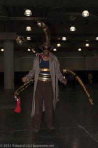 New York Comic Con NYCC 2013 Cosplay Doctor Octopus