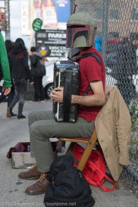 NYCC 2013 Cosplay Renegade Accordion Boba Fett