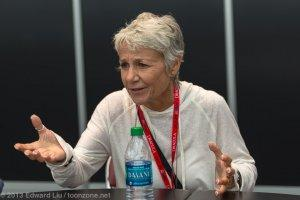 NYCC 2013 Justice League War Roundtable - Andrea Romano