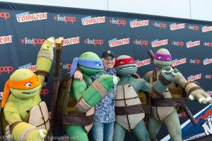NYCC 2013: Rob Paulsen with Nickelodeon's Teenage Mutant Ninja Turtles