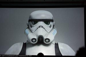NYCC 2013 Star Wars Rebels - Stormtrooper CGI model