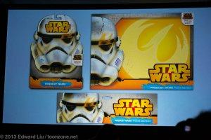 NYCC 2013 Star Wars Rebels - Hasbro toy packaging prototypes