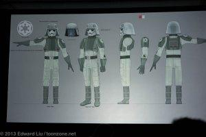 NYCC 2013 Star Wars Rebels - AT-DP Pilot