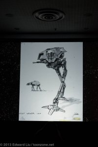 NYCC 2013 Star Wars Rebels - scout walker concept art by Joe Johnston
