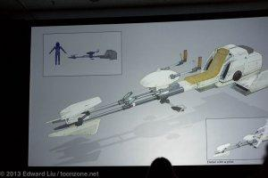 NYCC 2013 Star Wars Rebels - Speeder Bike