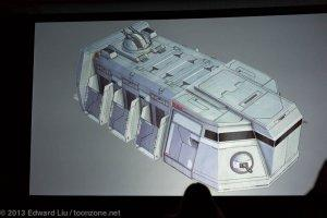 NYCC 2013 Star Wars Rebels - Troop Transporter