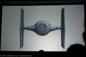 NYCC 2013 Star Wars Rebels - TIE Fighter