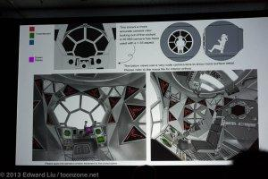 NYCC 2013 Star Wars Rebels - TIE Interior cockpit