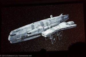 NYCC 2013 Star Wars Rebels - Imperial Freighter