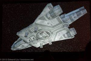 NYCC 2013 Star Wars Rebels - Imperial freighter, bottom view