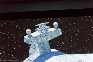 NYCC 2013 Star Wars Rebels - Star Destroyer conning tower addition
