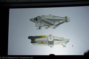NYCC 2013 Star Wars Rebels - The Ghost