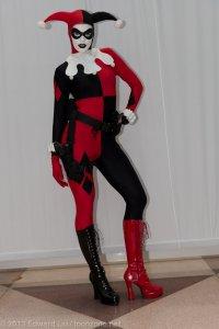 NYCC 2013 Summer Rayne Oakes as Harley Quinn