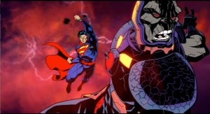 "From the ""Superman 75th"" Short, Superman vs. Darkseid from the ""Justice League"" comic books that ""Justice League: War"" is based on."